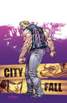 TMNT#27: City Fall_cover
