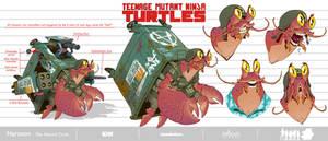 Herman-The Hermit Crab_TMNT_Design