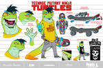 TMNT Mondo-Gecko santolouco