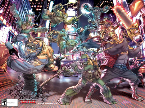 TMNT:Mutants in Manhattan_PromoPoster