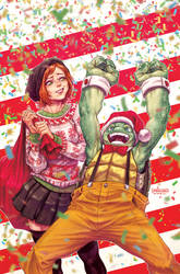 TMNT#Christmas cover