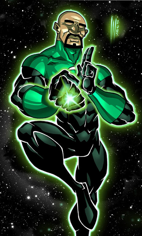 Green Lantern by Santolouco