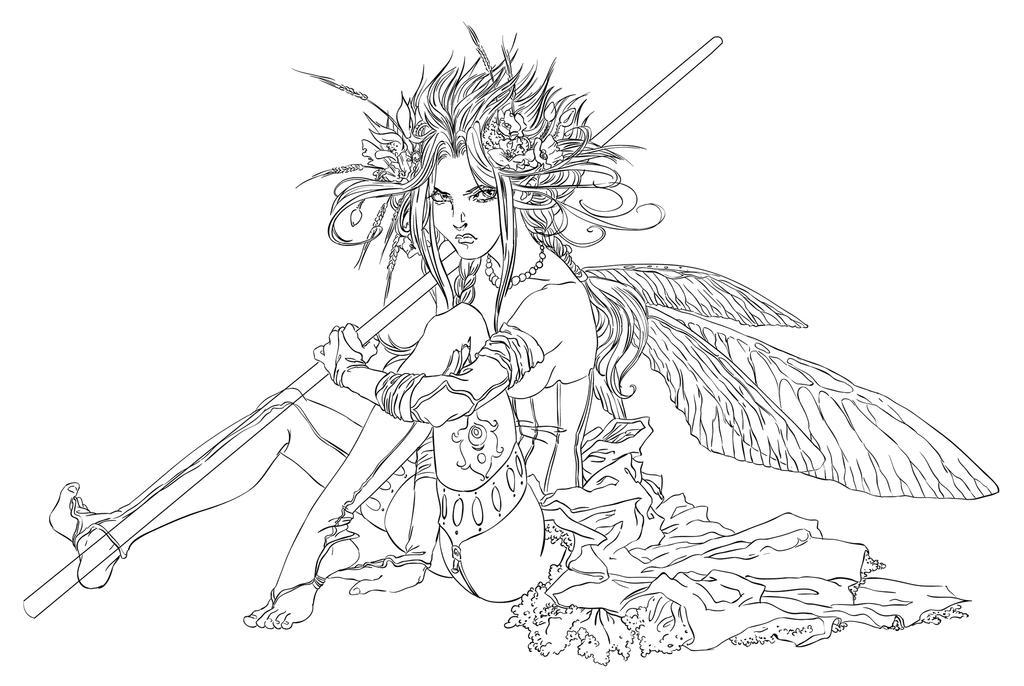 Summer Fairy by Asurit