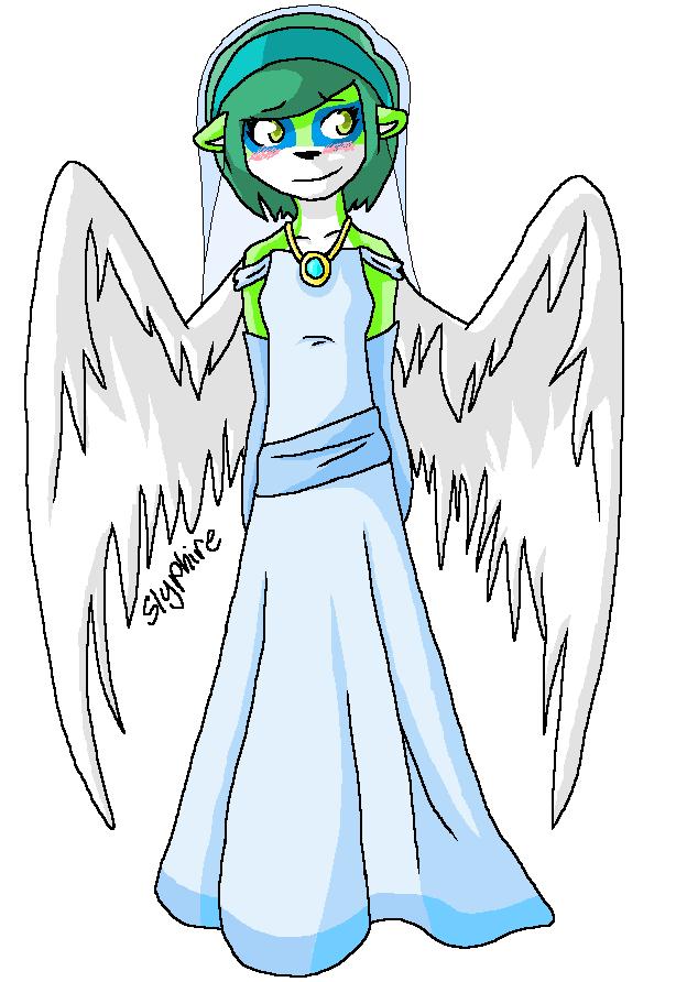Wedding Dress by Slyphire