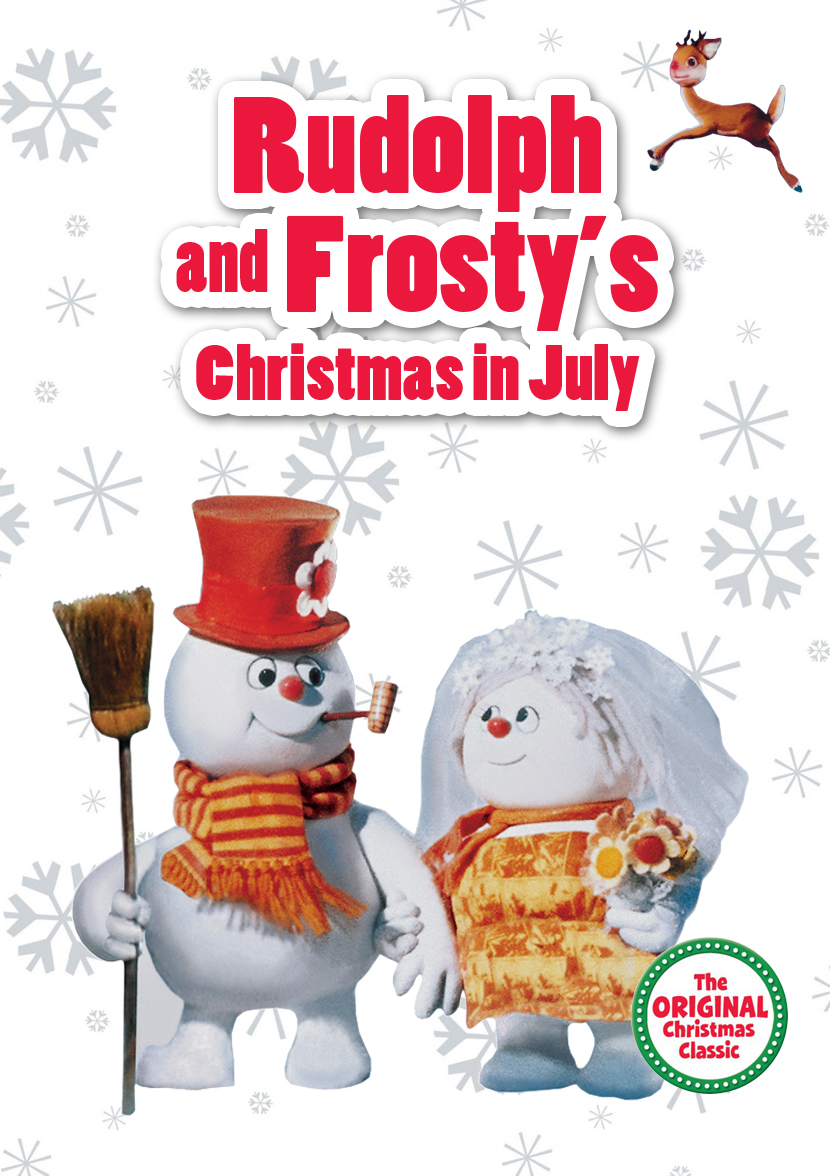 rudolph and frosty's christmas in july voice