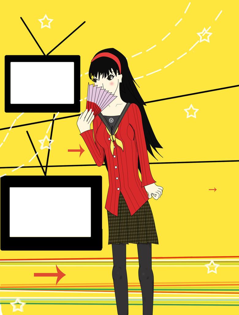 Persona 4 Golden Yukiko Amagi by AKA-47