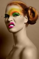 Rainbow girl by loveblack