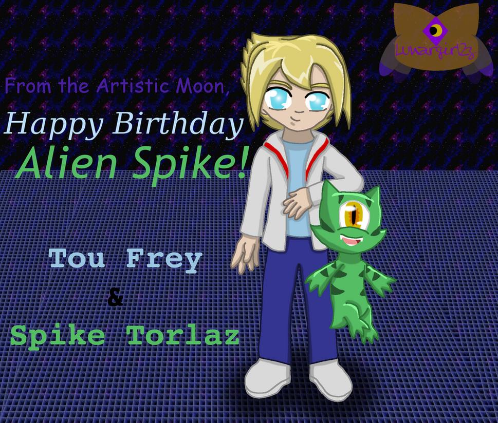 Happy Birthday Alien Spike! By LunarGirl2z On DeviantArt