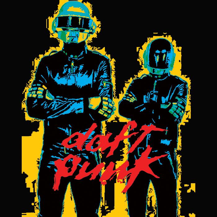 Daft Punk T Shirt Design By P1mpnjugg3rn4t