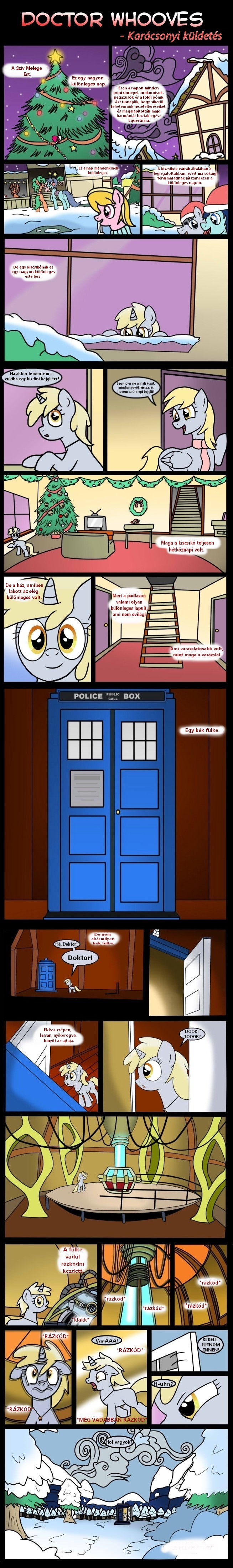 Doctor Whooves christmas special pt 1