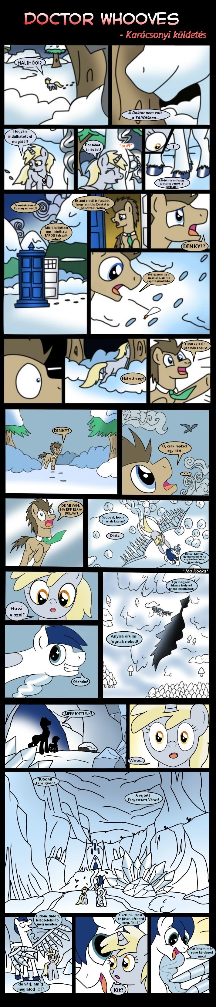 Doctor Whooves christmas special pt 2