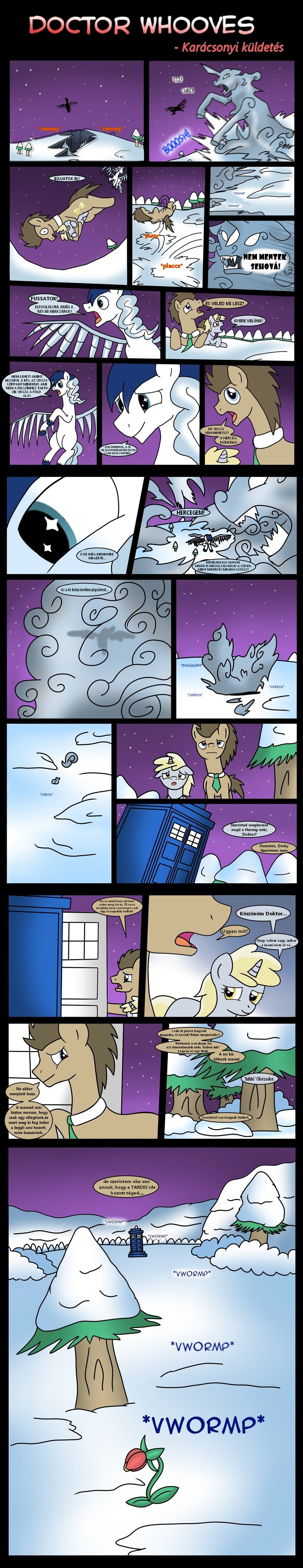 Doctor Whooves christmas special pt 8