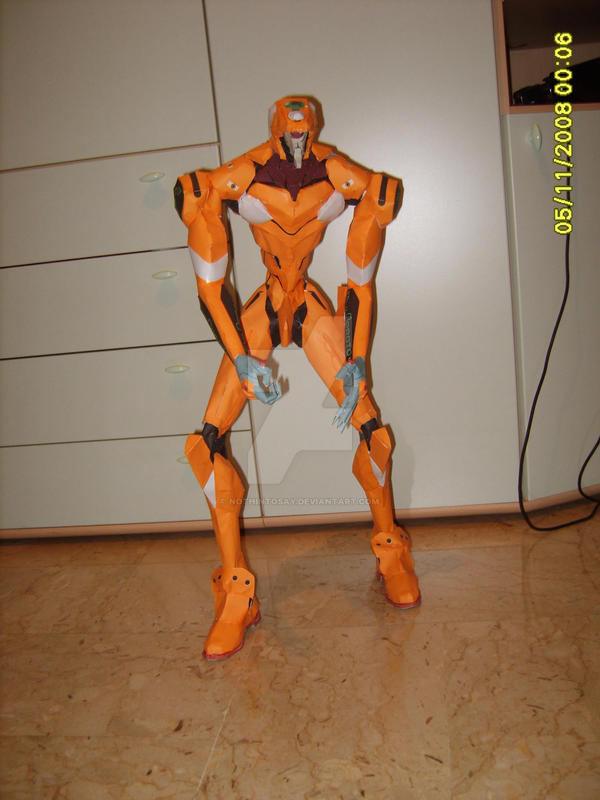 EVA 00 papercraft by NothinToSay