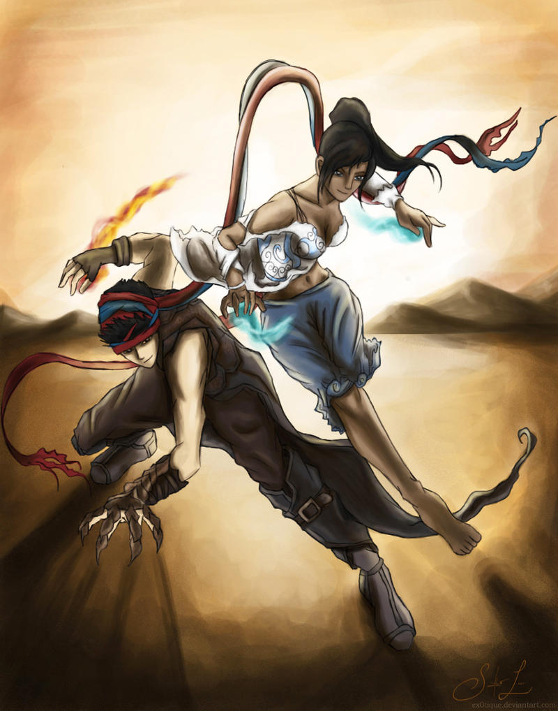 Makorra crossover, Prince of Persia. by artissx on DeviantArt