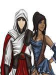 Makorra crossover, Assassin's Creed.