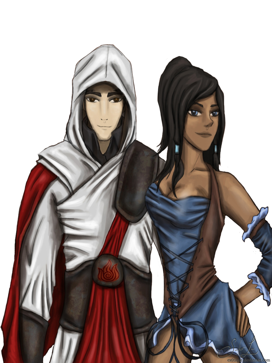 Makorra crossover, Assassin's Creed. by artissx on DeviantArt