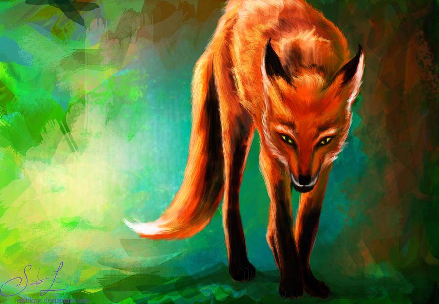 anime fox spirit wallpapers - photo #23