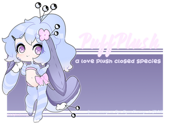 Species PuffPlush by pastelxtentacles