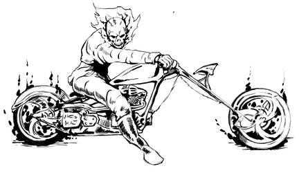 Ghost Rider by dsherburne