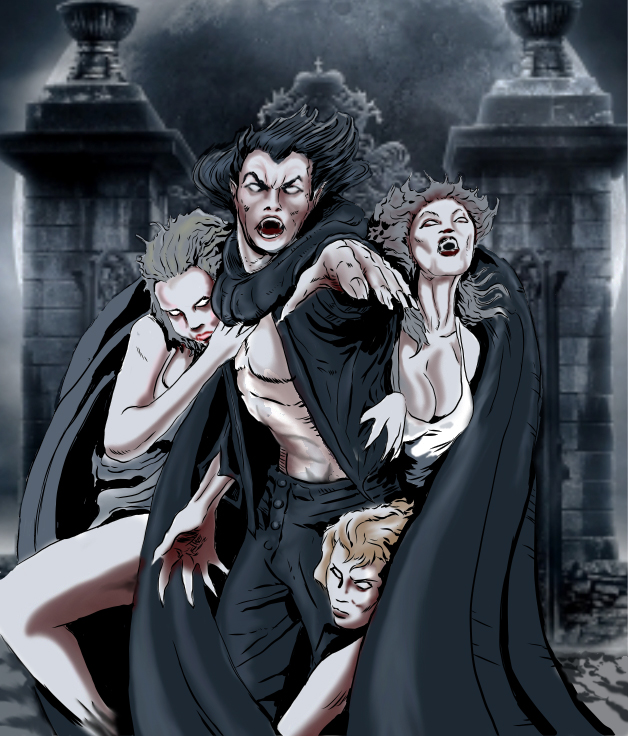The Vampire Brides Critters of the Night, No. 3