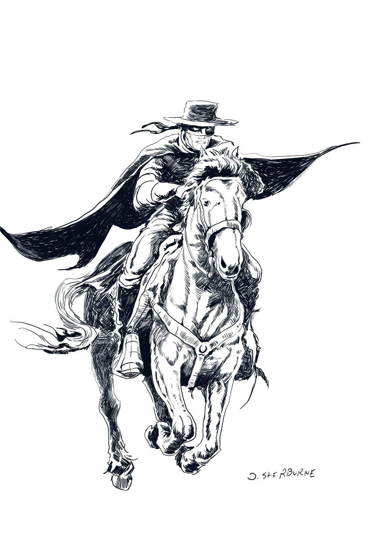 El Zorro By Dsherburne On DeviantArt