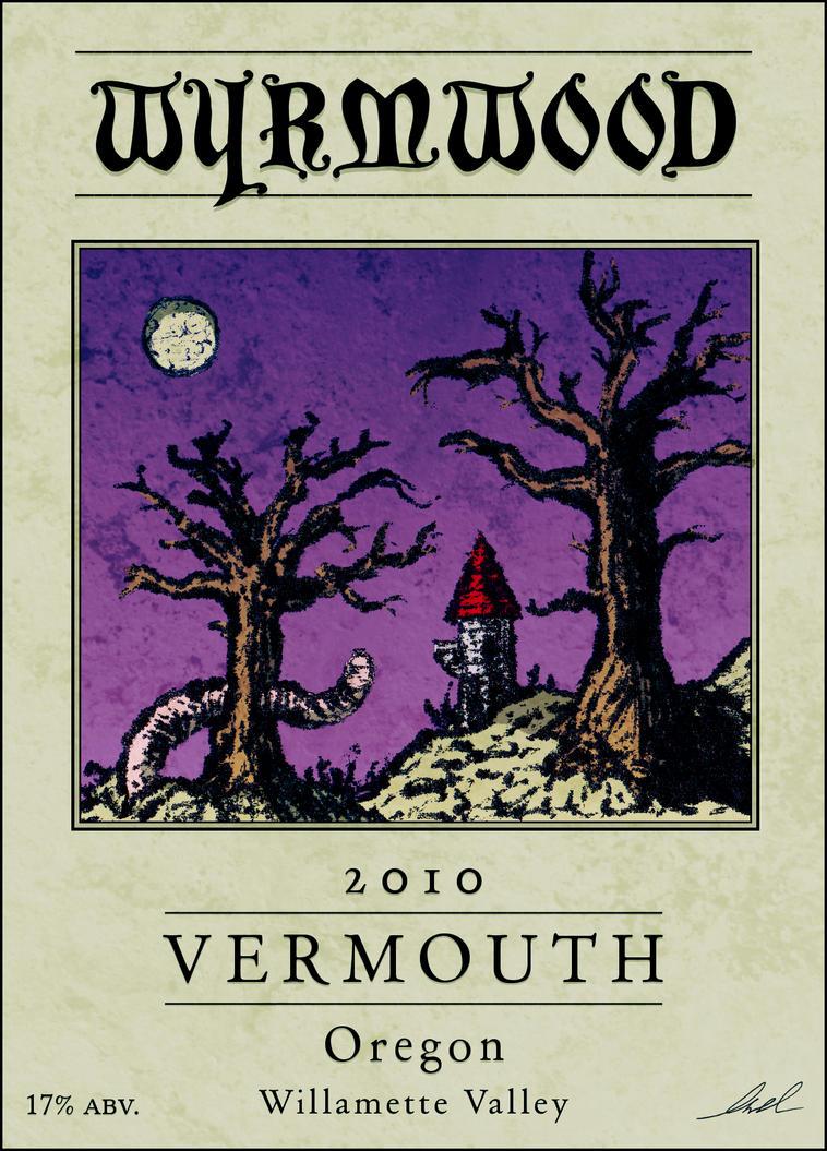 Wyrmwood Wine Label by StickstoMagnet