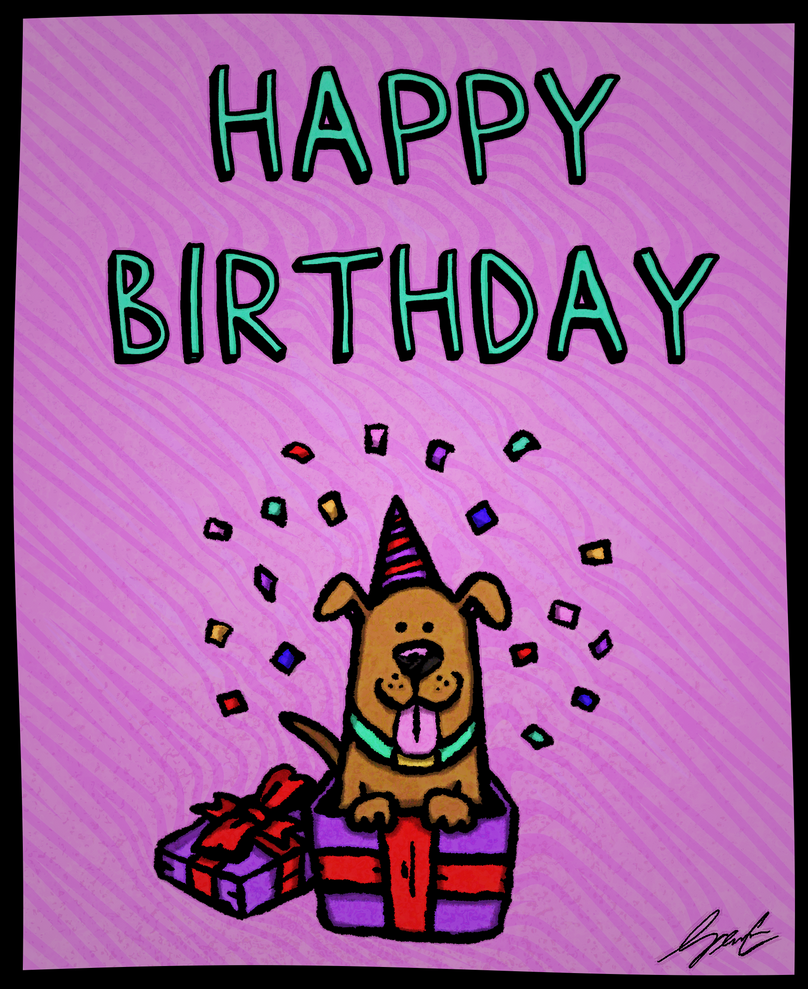 MWPC 2015 Birthday Card by StickstoMagnet