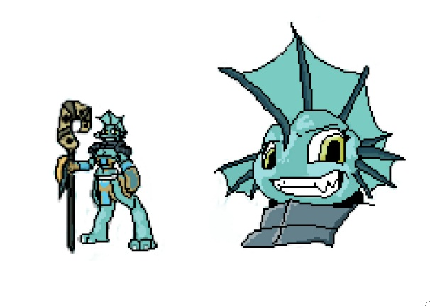 Some kind of Pixelart by Retsy