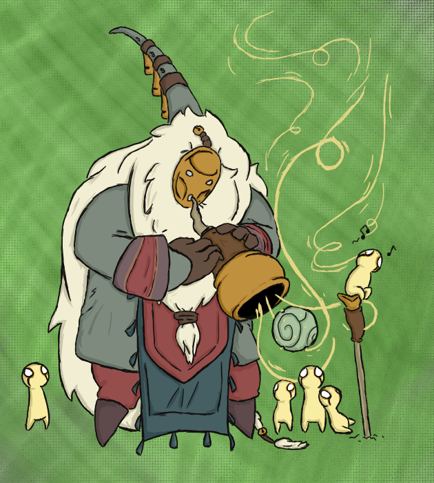 Bard and some Meeps by Retsy