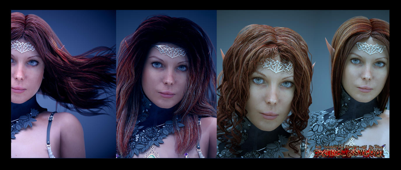 Free SSS hair and skin system for octane render by MaskDemon on ...