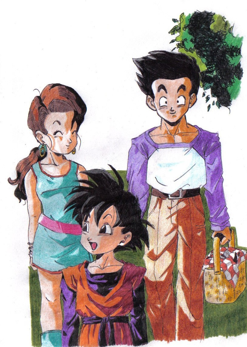 A happy family by Unmei-no-kaioshin