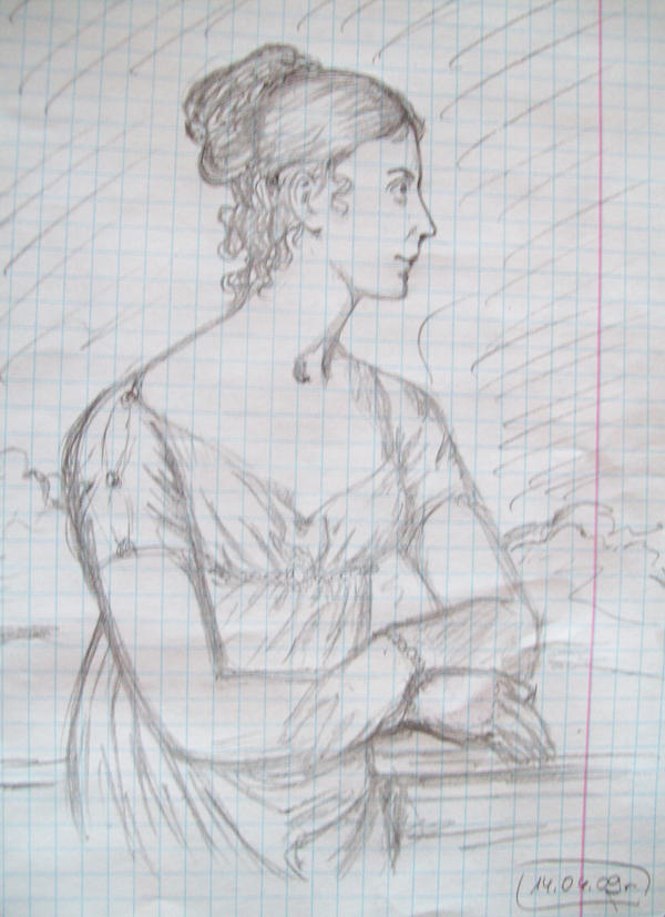 Stephanie de Beauharnais by Unmei-no-kaioshin