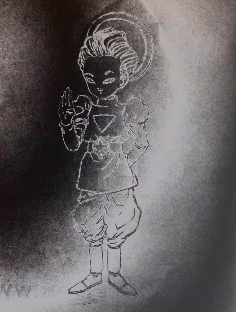 Daishinkan's greeting by Unmei-no-kaioshin
