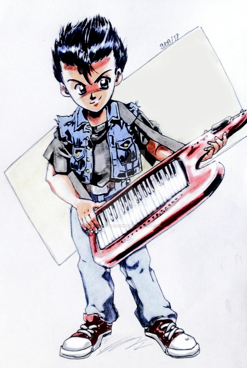 A boy and his  keytar [request] by Unmei-no-kaioshin