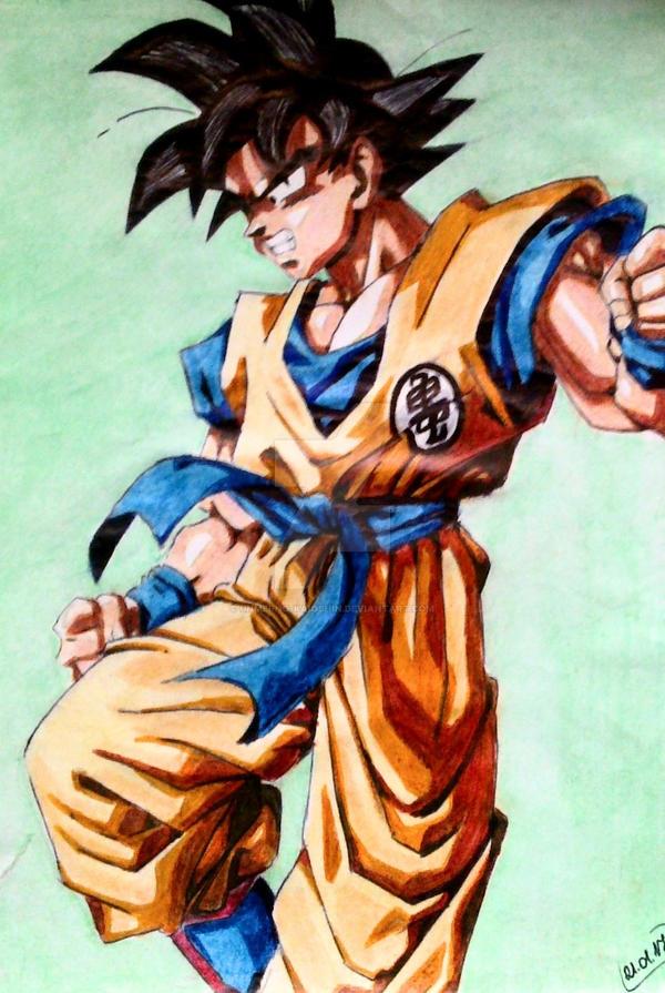 Son Goku - normal mode by Unmei-no-kaioshin