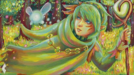 Whsiper Of The Woods. by HaruKazuhira