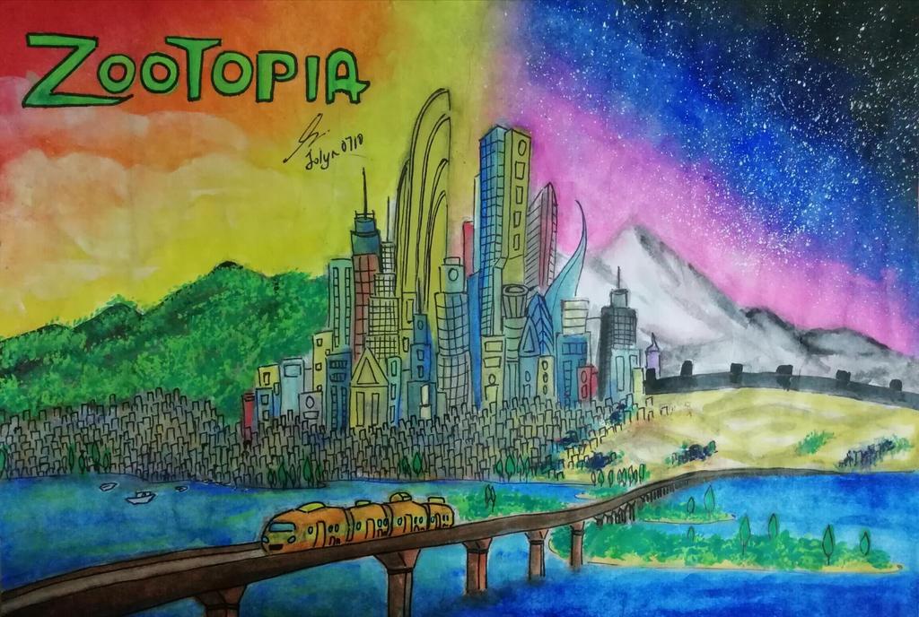 Zootopia by Jolyn0710