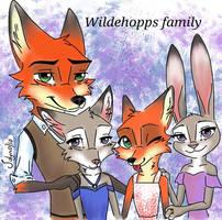 Wildehopps family(req) by Jolyn0710