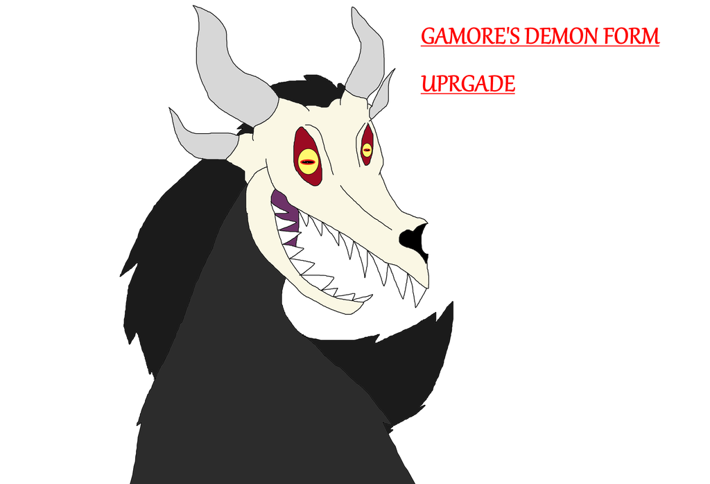 Gamore's Demon Form Upgrade by Perithefox10