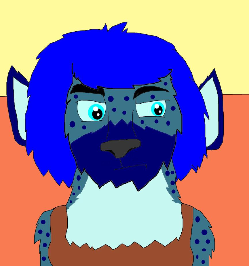 Peri Longfox Hyena Girl by Perithefox10