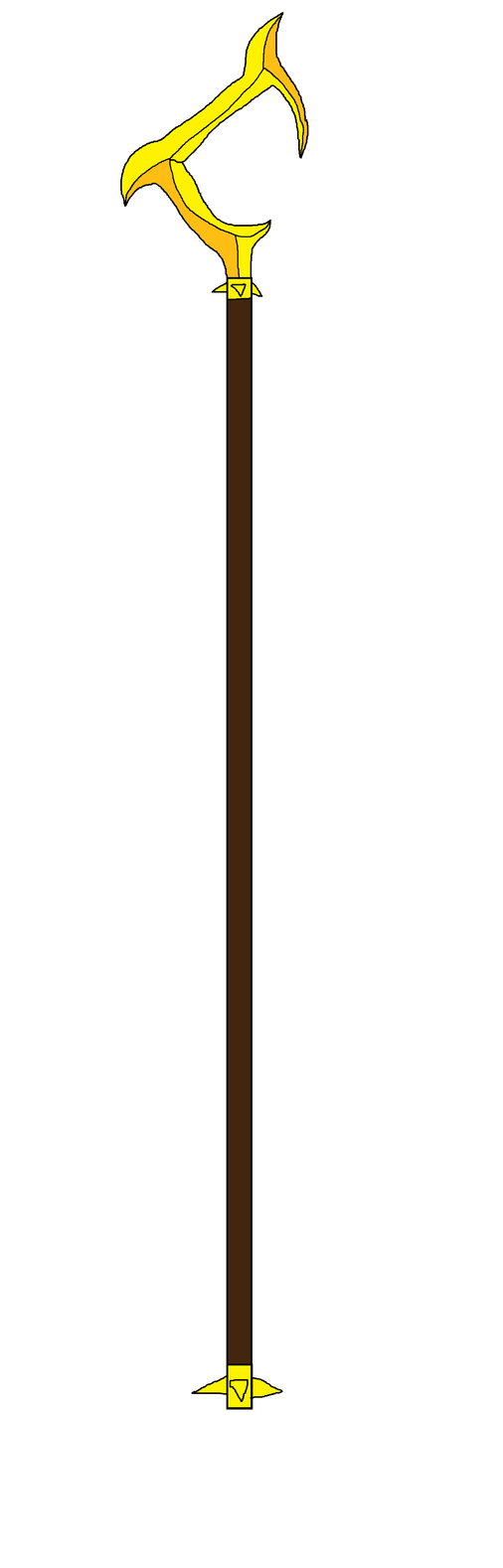 Sly's Cane In Werewolf Modified by Perithefox10