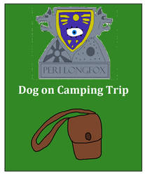 Dog on Camping Trip