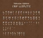 Subrosian Alphabet