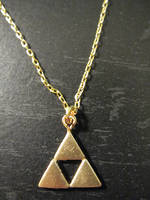 Triforce Necklace by Sarinilli