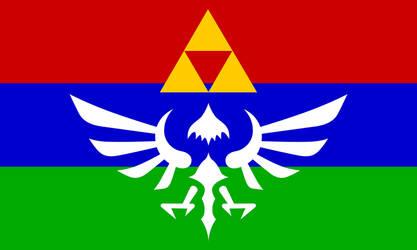 Hylian Flag - New Version by Sarinilli