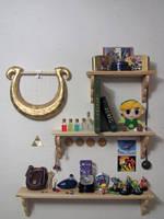 Zelda Shelves by Sarinilli