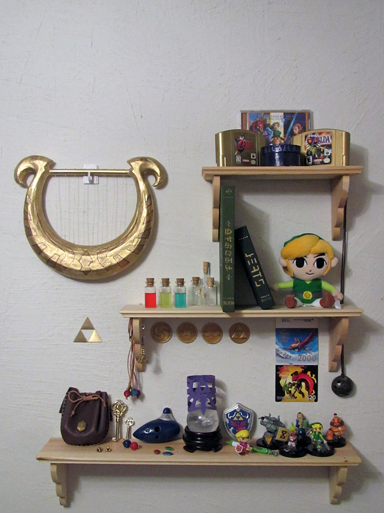 Zelda Shelves by Sarinilli