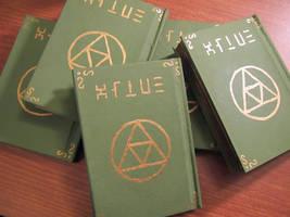 Hylian Notebooks by Sarinilli