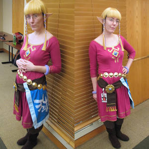 Skyloft Zelda Cosplay ASL 2013