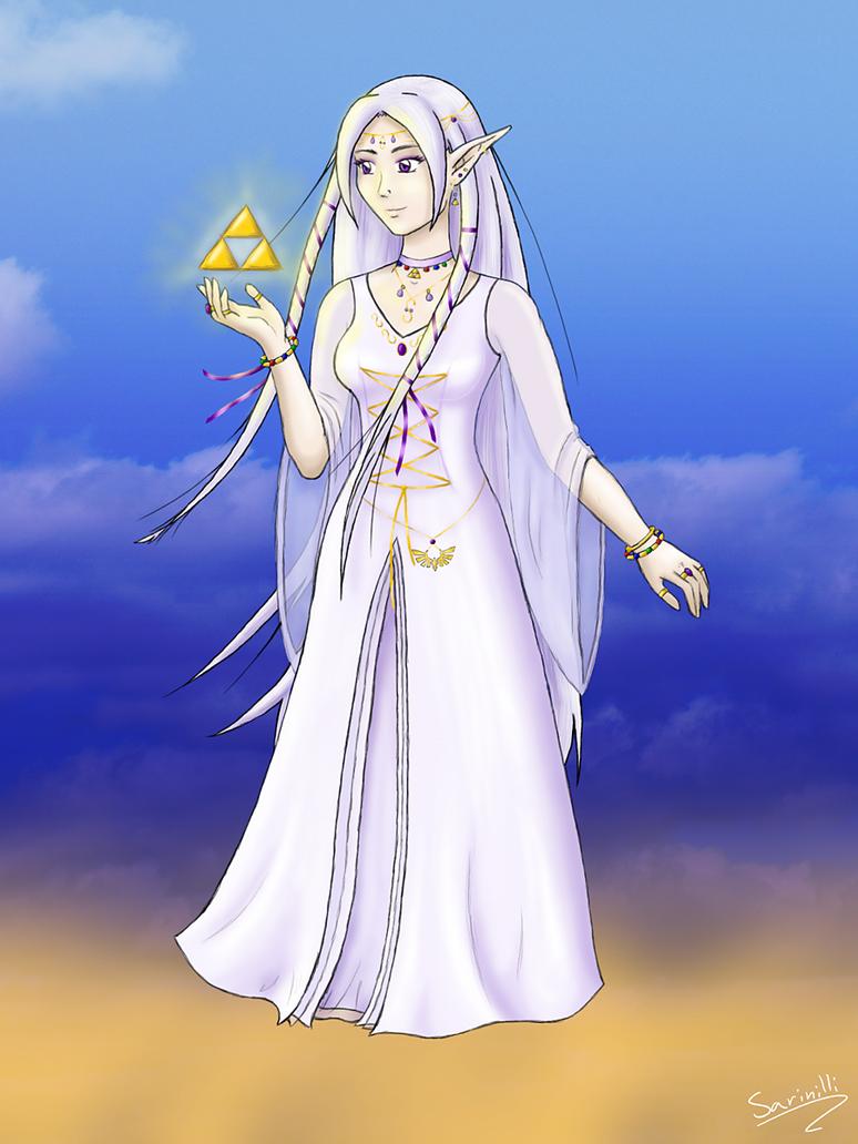 Goddess Hylia by MistressAinley on DeviantArt